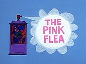 The Pink Flea Cartoon Picture