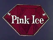 Pink Ice Cartoon Picture