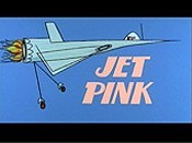 Jet Pink Picture Into Cartoon