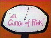 An Ounce Of Pink Cartoon Character Picture