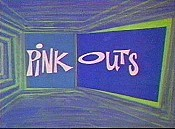Pink Outs Picture Into Cartoon