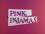 Pink Pajamas Picture Of Cartoon