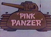 Pink Panzer Cartoon Character Picture