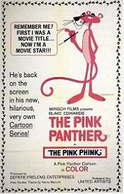 The Pink Phink Cartoon Character Picture