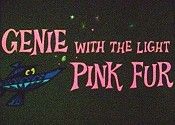 Genie With The Light Pink Fur Picture Into Cartoon