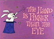 The Hand Is Pinker Than The Eye Picture Into Cartoon