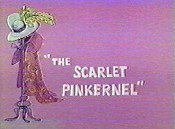 The Scarlet Pinkernel Picture Of Cartoon