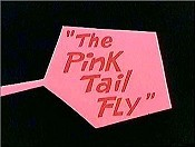 The Pink Tail Fly Cartoon Character Picture