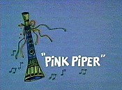 Pink Piper Free Cartoon Picture