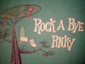 Rock A Bye Pinky Picture Into Cartoon