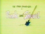 Pink And Shovel Picture Of Cartoon