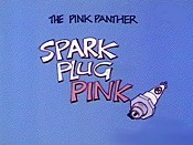 Spark Plug Pink Cartoon Pictures