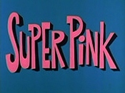 Super Pink Cartoon Picture
