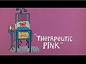 Therapeutic Pink Cartoons Picture