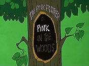 Pink In The Woods Free Cartoon Pictures