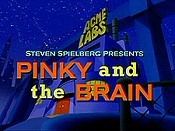 A Pinky And The Brain Christmas Picture Into Cartoon