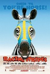 Racing Stripes Picture Into Cartoon