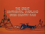 The Great Continental Overland Cross-Country Race Cartoon Character Picture