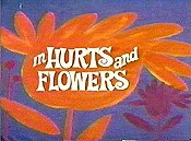 Hurts And Flowers Cartoon Character Picture