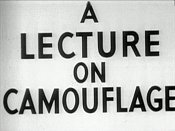 A Lecture On Camouflage Free Cartoon Picture