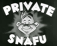 Private Snafu Theatrical Cartoon Series Logo