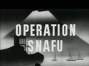 Operation Snafu Cartoon Picture