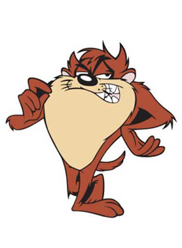 Tasmanian Devil Pictures To Cartoon