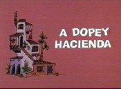 A Dopey Hacienda Cartoon Picture