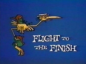 Flight To The Finish Cartoon Picture