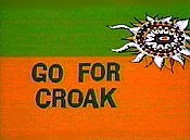 Go For Croak Cartoon Picture