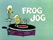 Frog Jog Cartoon Picture