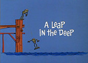 A Leap In The Deep Cartoon Funny Pictures