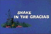 Snake In The Gracias Cartoon Picture