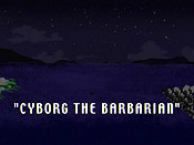 Cyborg The Barbarian Cartoon Picture