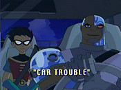 Car Trouble Cartoon Character Picture