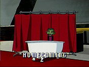 Homecoming Picture Into Cartoon