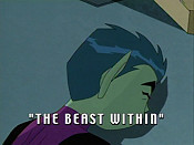 Teen titans episode the beast within
