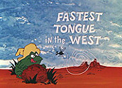 The Fastest Tongue In The West Cartoons Picture