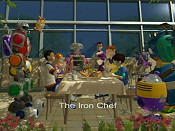 The Iron Chef Cartoon Picture