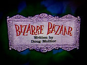 Bizarre Bazaar Cartoon Picture