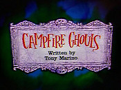 Campfire Ghouls Pictures In Cartoon