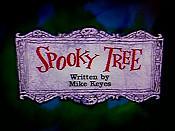 Spooky Tree Cartoon Picture