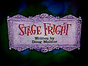 Stage Fright Pictures To Cartoon