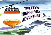 Tweety's High-Flying Adventure Cartoon Character Picture