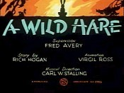 A Wild Hare Picture Of The Cartoon
