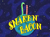 Snake 'n' Bacon Cartoon Picture