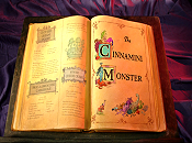The Cinnamini Monster Cartoon Picture