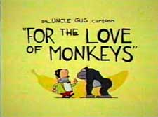 For the Love of Monkeys Cartoon Picture