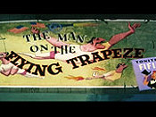 The Man On The Flying Trapeze Free Cartoon Picture