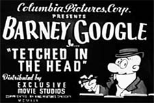 Barney Google Theatrical Cartoon Series Logo